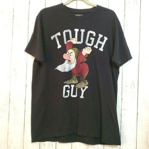 Walt Disney World XL T-shirt Grumpy Tough Guy Tee